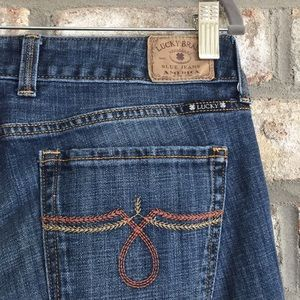 80% OFF) LUCKY BRAND LOLA STRAIGHT JEANS 8